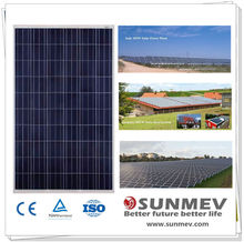 Lightweight 250 watt photovoltaic polycrystaline solar panel with best quality