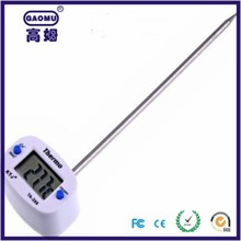 Wireless meat metal thermometer