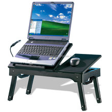 Multifunction Deluxe foldable adjustable laptop table with fan