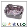 2015 Alibaba wholesale light weight felt storage basket with lining