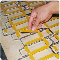 Plastic Creasing Matrix for Die Cutting mold Material