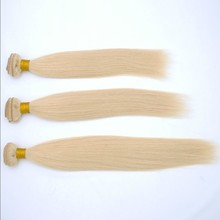 2015 most fashion real human hair extension high quality virgin hair 613 color