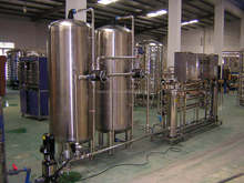 Two stage RO Water Treatment Plant / Reverse Osmosis Purifiction System 2000L/H