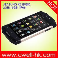 2015 New! Original 5.0 Inch Gorilla Glass Screen Android Waterproof Phone JEASUNG X9 EVDO 4G Lte IP68 Smartphone