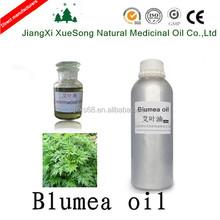 100% pure nature blumea essential oil, Chinese manufacturer sale blumea oil