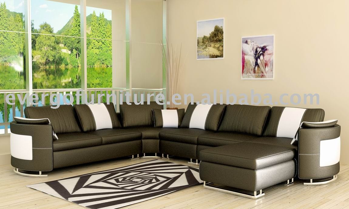 Leather sofa set buy leather sofa set genuine leather Sofa set designs for home