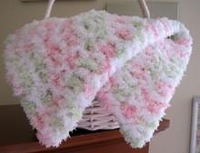 2015 New Fashion wholesale handmade crochet baby blanket