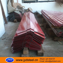 color steel roof ridge tile