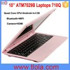 Newest Design Cheap Mini Laptop With Bluetooth 710Q
