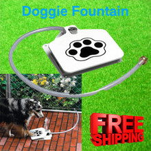 Dog Paw Automatic Fresh Water Drinking Fountain Bowel - Dogs Drinking Water Bottle