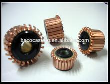 De China AC / DC segements conmutador del motor fábrica