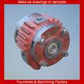 CNC automático girando la placa de la bomba de vacío rotativa leche en partes mecánicas y suministros de fabricación