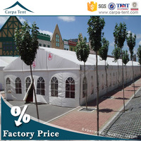 10x35m including chairs and tables 100% aluminum alloy pvc roof wedding party event marquee tent with air conditioner