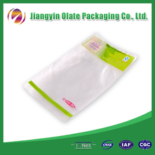 Vacuumized plastic packaging bag for food/vacuum seal food storage