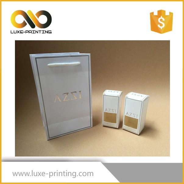 Branco ou Marrom Kraft Sacos De Papel de Presente personalizado com seu próprio logotipo