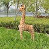 custom small plastic christmas figurines and giraffe life size animals