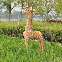 custom small plastic christmas figurines and giraffe life size animals