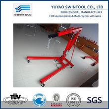 2014 hot sale 2ton hydraulic engine hoist cherry picker shop crane lift