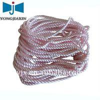 novelties pink twisted nylon cord as bracelet