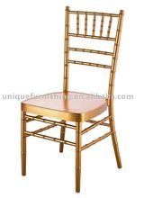 Gold Hotel Aluminum Chiavari Chair