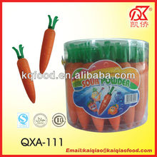 18g Carrot Shaped Sour Powder Candy