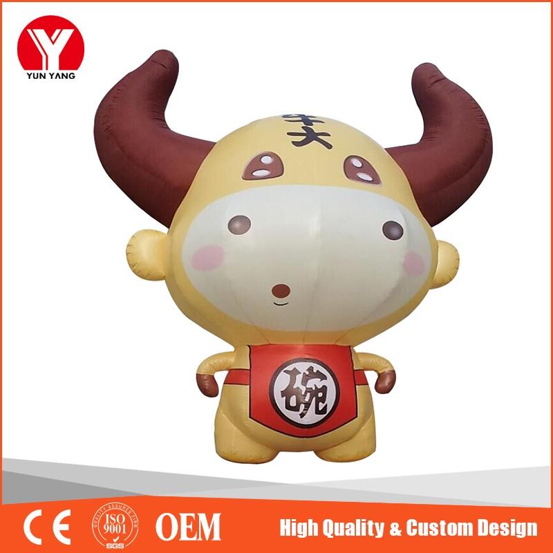 inflatable cartoon cow 41