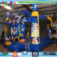 4 in 1 giant micky bounce house with inside slide China manufacturer