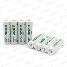 soshine AA rechargeable battery 2200mAh 1.2V NIMH For Toys Game/Camera /Remote