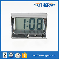 yuyao small digital lcd car clock