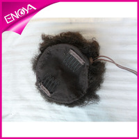 New Style Handtied Braided Claw Clip Ponytail Human Hair Extension