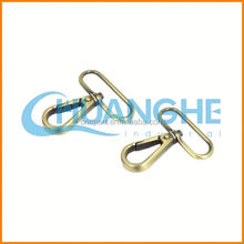 China The latest design excellent process metal buckle snap hook with lock