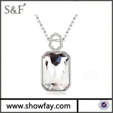 High Quality Necklaces Jewelry , made with swarovsky crystal , Crystal 2014 Fashion Necklace