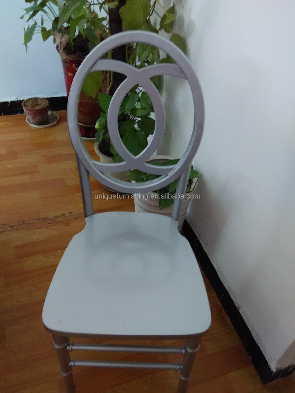 New Design High Back Dining Wood Modern Silver Chiavari Chair - Buy ...