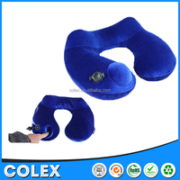 Cheap travel pillow inflatable custom with cheap price