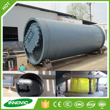 Water cooling and automatic scrap tire recycle project