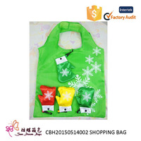 New style and hot selling nylon shopping bag, folding shopping bag, folding bag