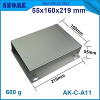 anodizing Aluminum electronics enclosure coating Extrusion Distribution Box