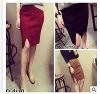 C63539A 2014 Korean style autumn/winter fashion Slim hip skirt for women