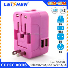 Sell Well 100-250V multi adapter travel adapter for iphone Power adapter electrical accessories