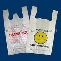 Custom printed plastic garbage bags