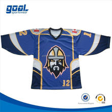 Wholesale cheap team polyester men's ice hockey jerseys