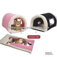 Plush Animal Shaped Pet Bed/large Cat Beds/cute Cat Beds