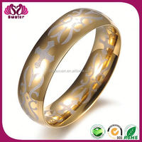 The Copper Plated 18K Yellow Gold 18K Fake Gold Rings