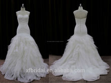 especial sin respaldo amor del estilo de la colmena blancas imágenes de organza últimos vestidos diseños