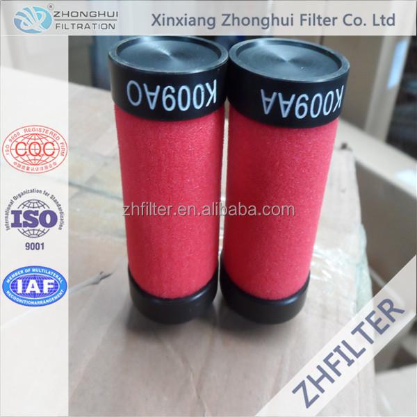Domnick Hunter compressed air filter element K009AO