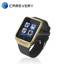 Smart watch wifi 3G sim card android 4.4 dual core watch phone, high quality smart watch build in 3G