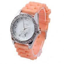 silicone color strap digital children watch watch silicones all colors SY-35203