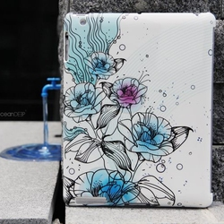 hand drawn customized smart cover for ipad air 64gb