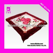 ALS-DESIGN8026 100% Polyester Blanket Or 100% Acrylic Blanket,Stock Blanket