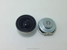 40mm 2w 8ohm Fo-20KHz Mylar cone speaker